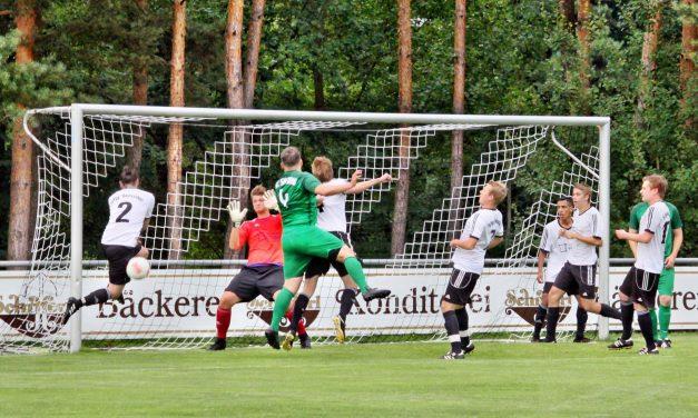 Zweite verteidigt tapfer, greift aber harmlos an. 0:2-Niederlage gegen SC Sinzing