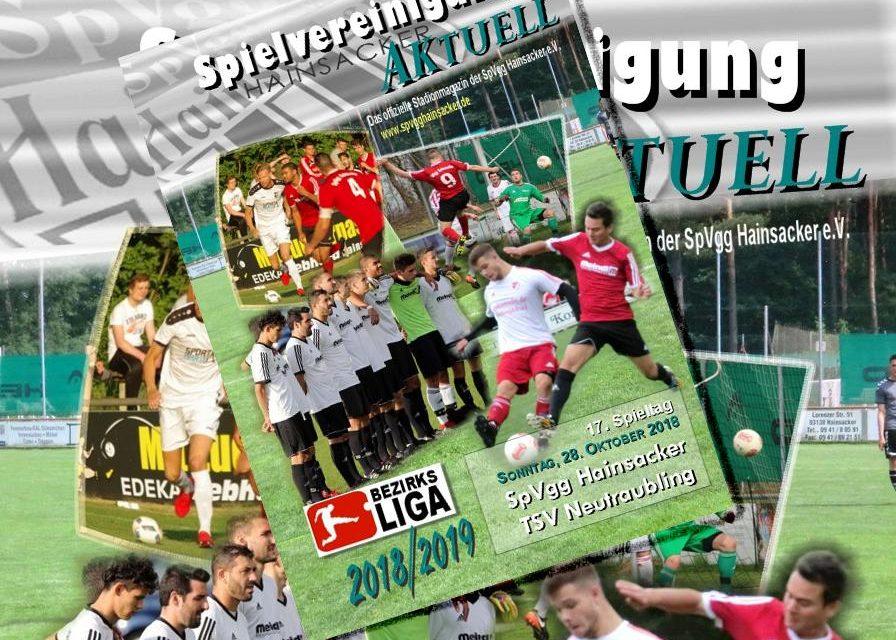 Stadionheft, 17. Spieltag: TSV Neutraubling