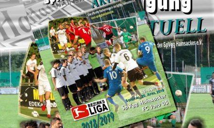 Stadionheft, 26. Spieltag: FC Jura 05