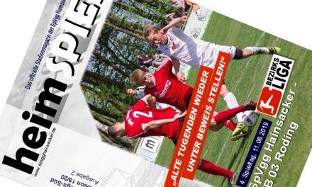 Stadionheft, 4. Spieltag: TB 03 Roding