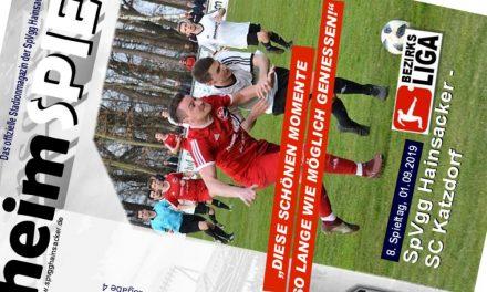 Stadionheft, 8. Spieltag: SC Katzdorf