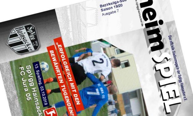 Stadionheft, 13. Spieltag: FC Jura 05