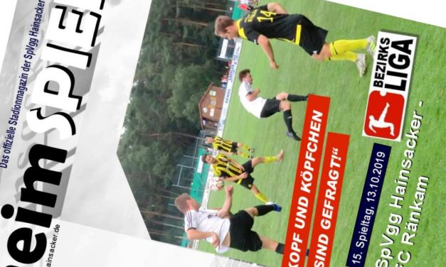 Stadionheft, 13. Spieltag: FC Ränkam