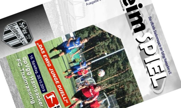Stadionheft, 16. Spieltag: FC Thalmassing