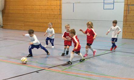 Die Fussball-Bambini`s legen wieder los…