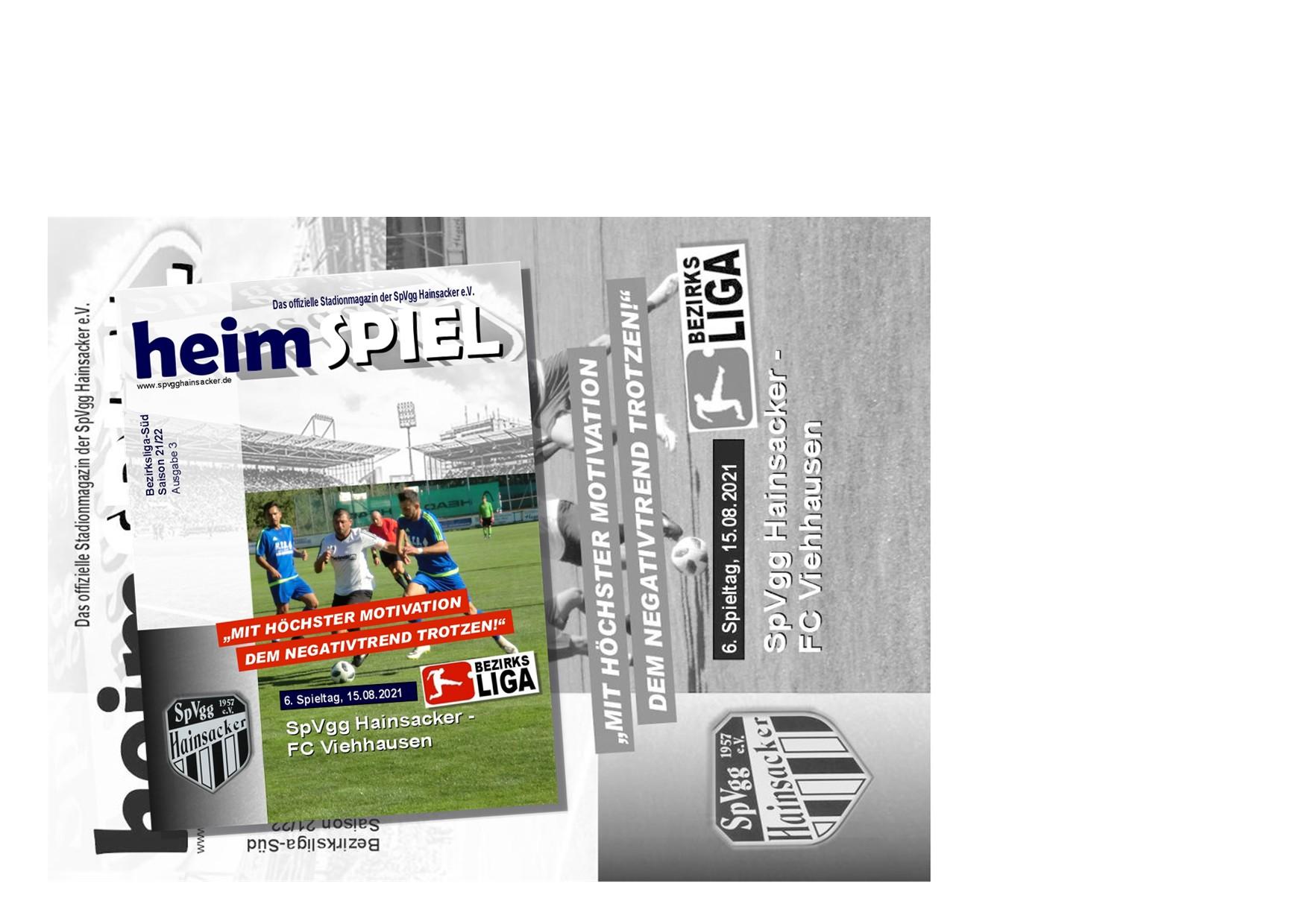 Stadionheft 21/22, 6. Spieltag: FC Viehhausen