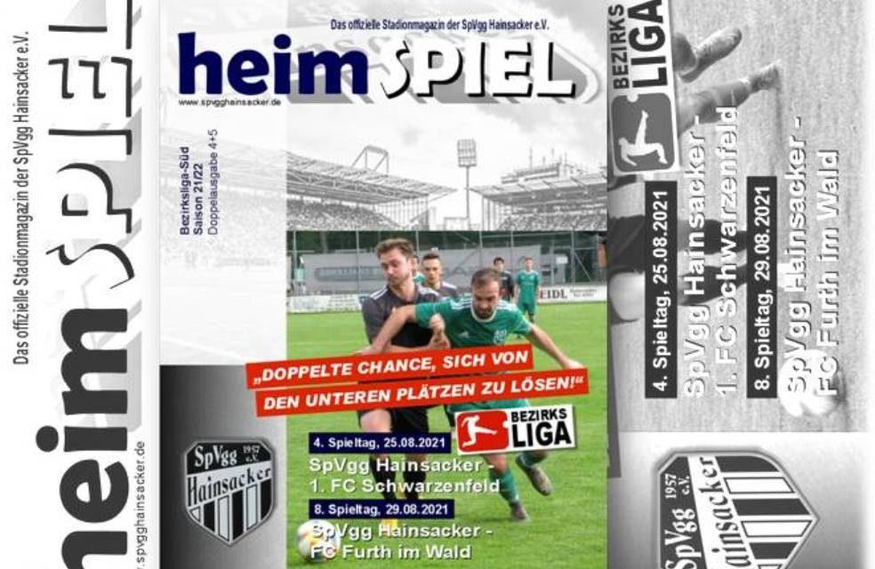 Stadionheft 21/22, 8. Spieltag: FC Furth im Wald