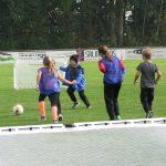 Spiel, Spaß und Fußball satt