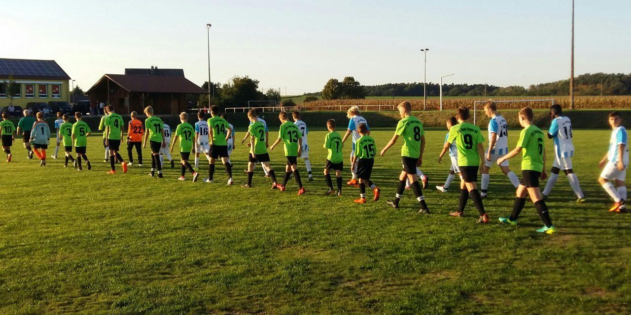 C1-Jugend legt im ersten Heimspiel nach.