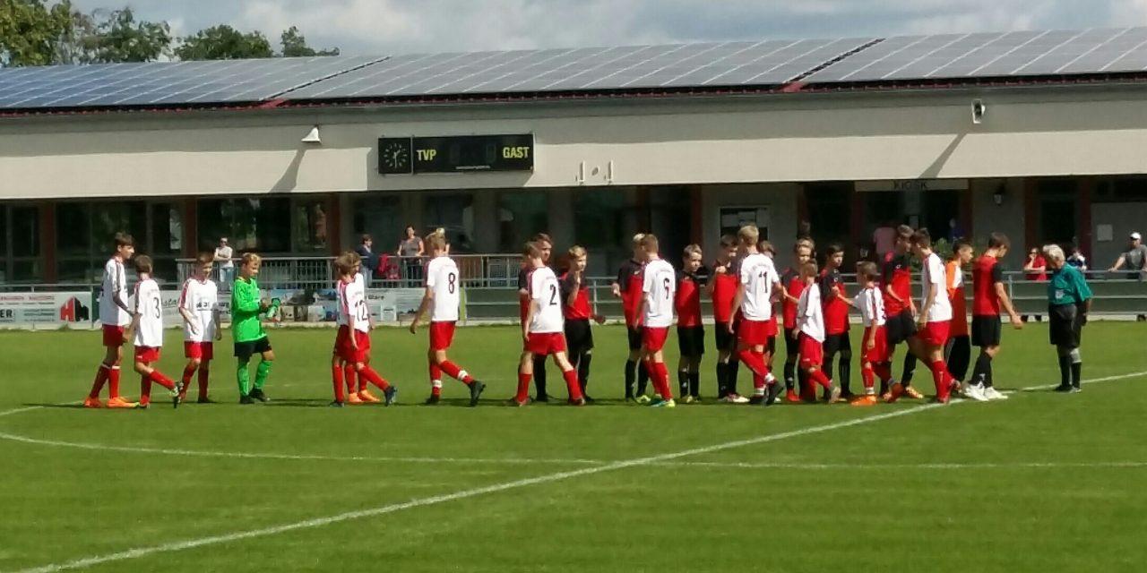 C1-Jugend startet mit 5:0 Sieg in die neue Saison.
