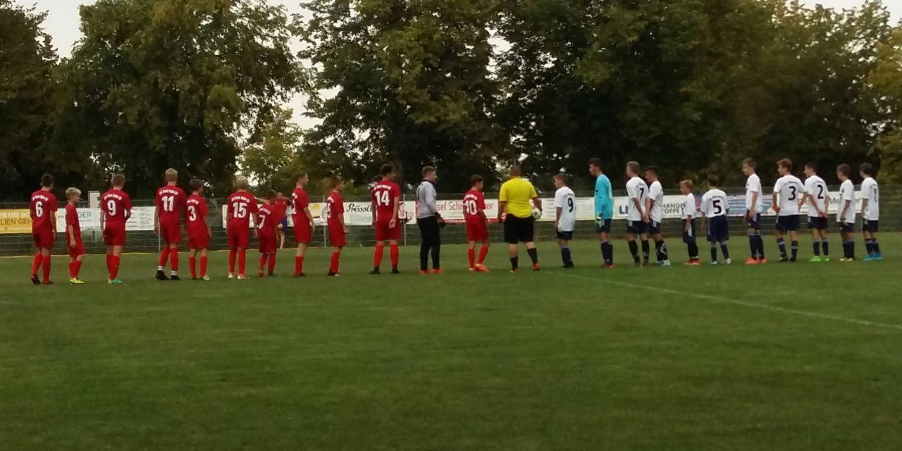 C1 mit guter Leistung gegen Kreisligist TSV Offenstetten knapp verloren.