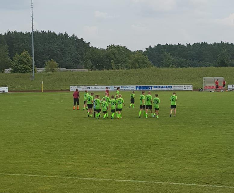 Testspielsieg C1 gegen BOL Vertreter TSV Abensberg