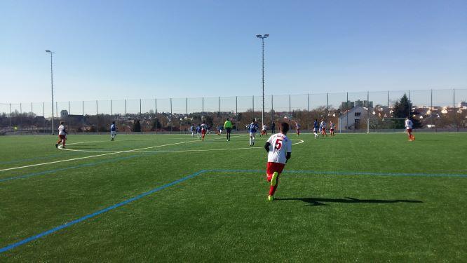 Testspiel VFB 3