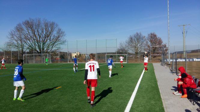 Testspiel VFB 9
