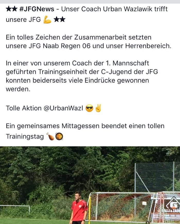Trainingstag 15