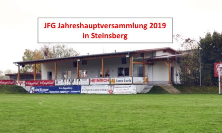 JFG Jahreshauptversammlung 2019