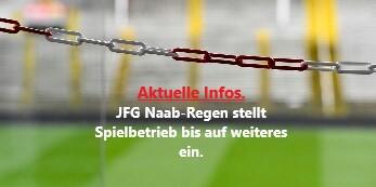 JFG Naab-Regen stellt Spielbetrieb ein