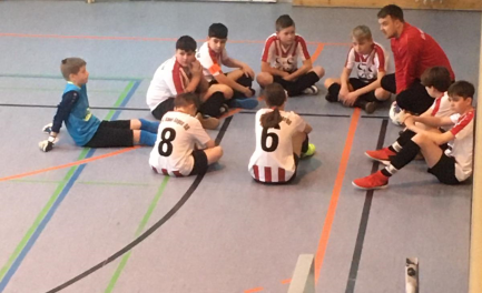 D2 beendet Futsalliga auf dem 3ten Platz.