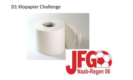 D1 Klopapier Challenge