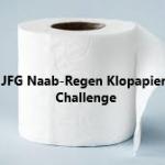Klopapier-Challenge angenommen.
