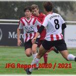 JFG Report 1 / 2020-2021 zum Saisonstart 19.9.20