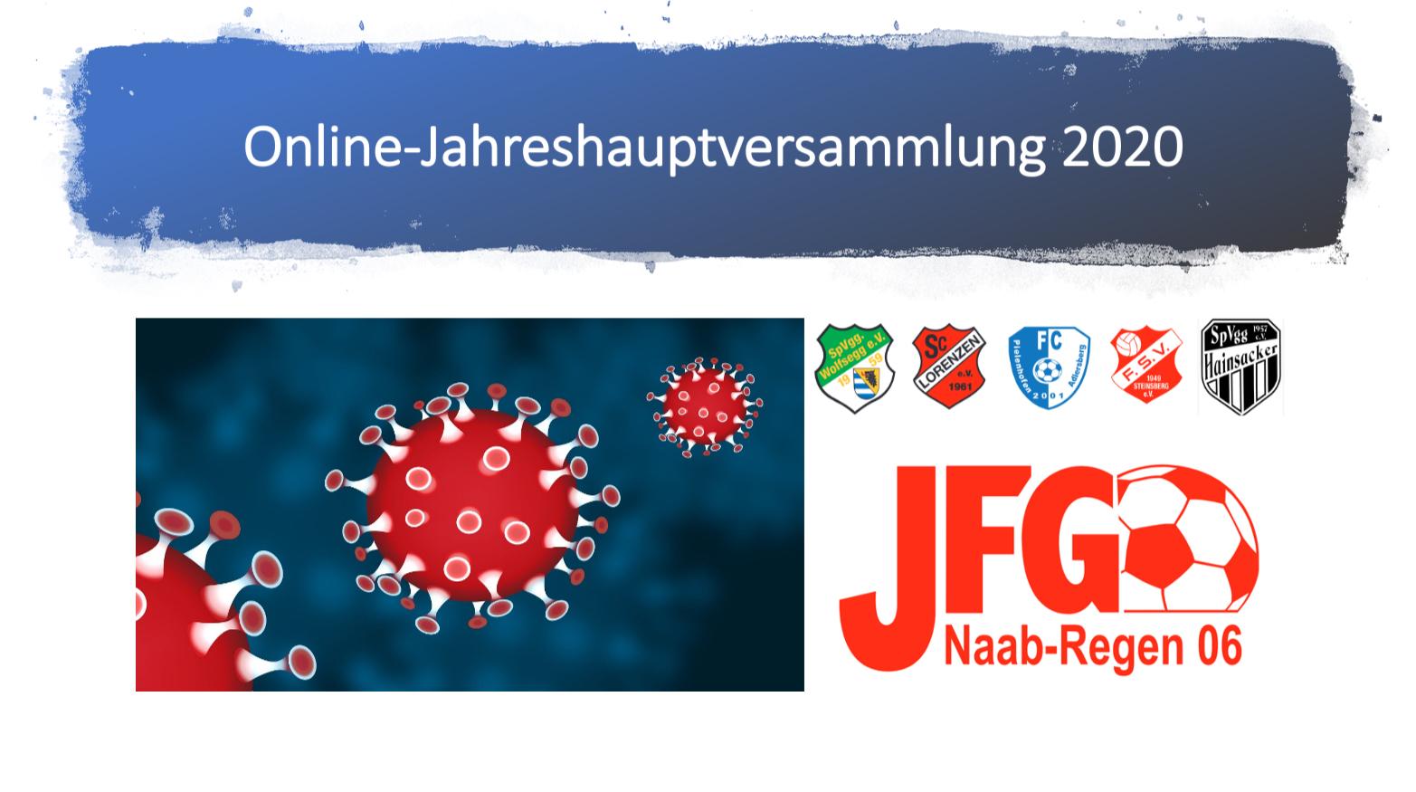 Jahreshauptversammlung 2020 – Online
