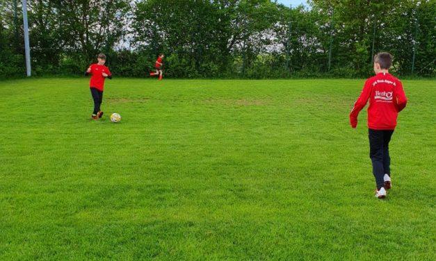 D-Jugend startet mit den Auflagen ins erste Training.