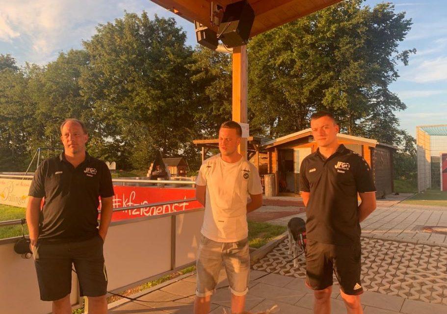 D1 feiert in Steinsberg Abschluss von Saison 2020/21