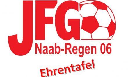 Vereinsgründer der JFG als Ehrenmitglieder geehrt.